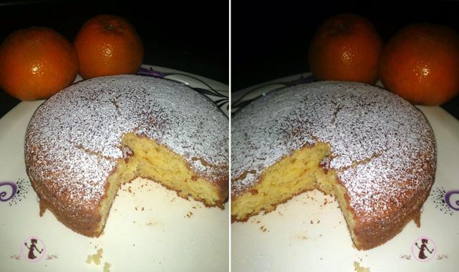 Orange Flavour Cake