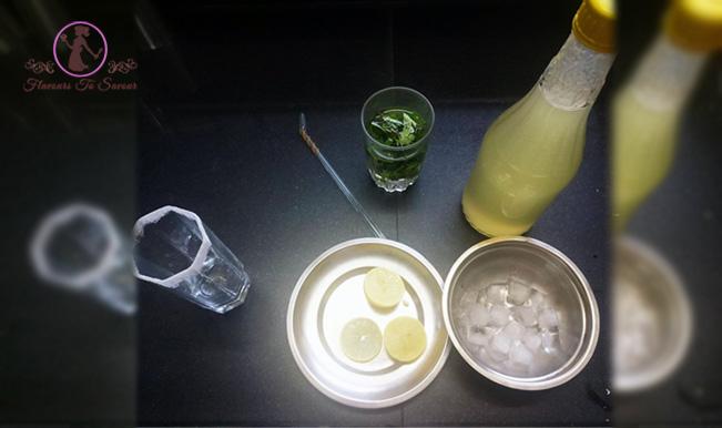 Summer Drink Virgin Mojito