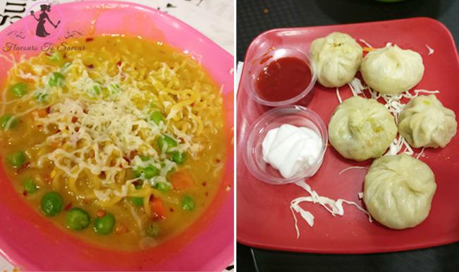 Maggi, Momos, Pasta at FYI, Indore