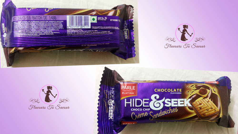 Product Review of Hide & Seek Chocolate Creme Biscuits