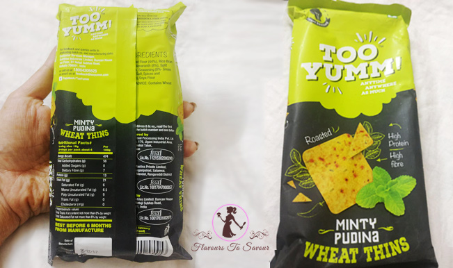 Healthy Snack Too Yumm Review