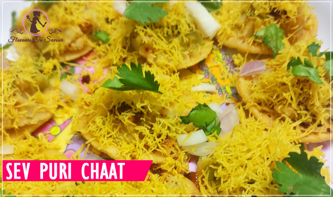 Easy Sev Puri Recipe