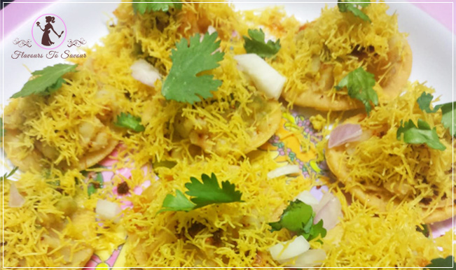 Simple Sev Papdi Chaat Recipe