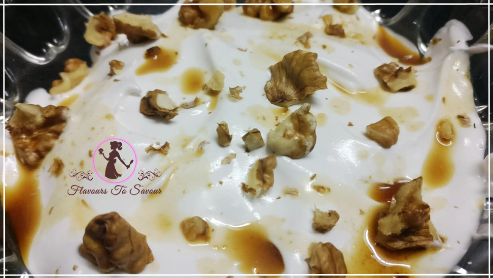 Coffee Walnut Pudding Mothers' Day Recipe
