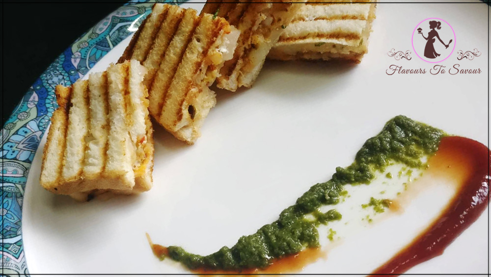 Masala Sandwich Monsoon Special Appetiser Recipe