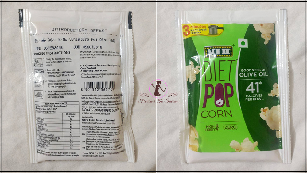 ACT II Popcorn Taste, Pricing, Packaging Product Review