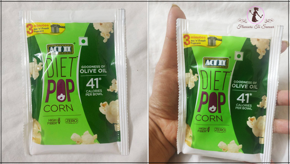 Act II Diet Popcorn Product Review