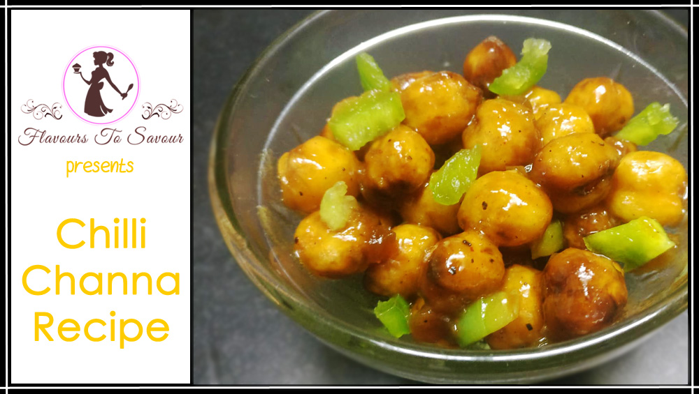 Chily Channa Tangy Recipe