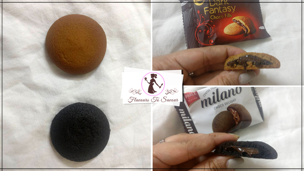 Review of Sunfeast Dark Fantasy Cookies and Parle Milano Cookies