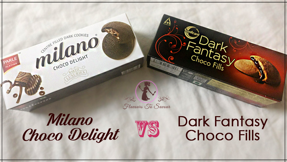 Sunfeast Dark Fantasy Cookies vs Parle Milano Cookies Comparison