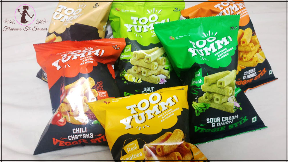 Too Yumm All Flavours Healthy Snacks Product Review
