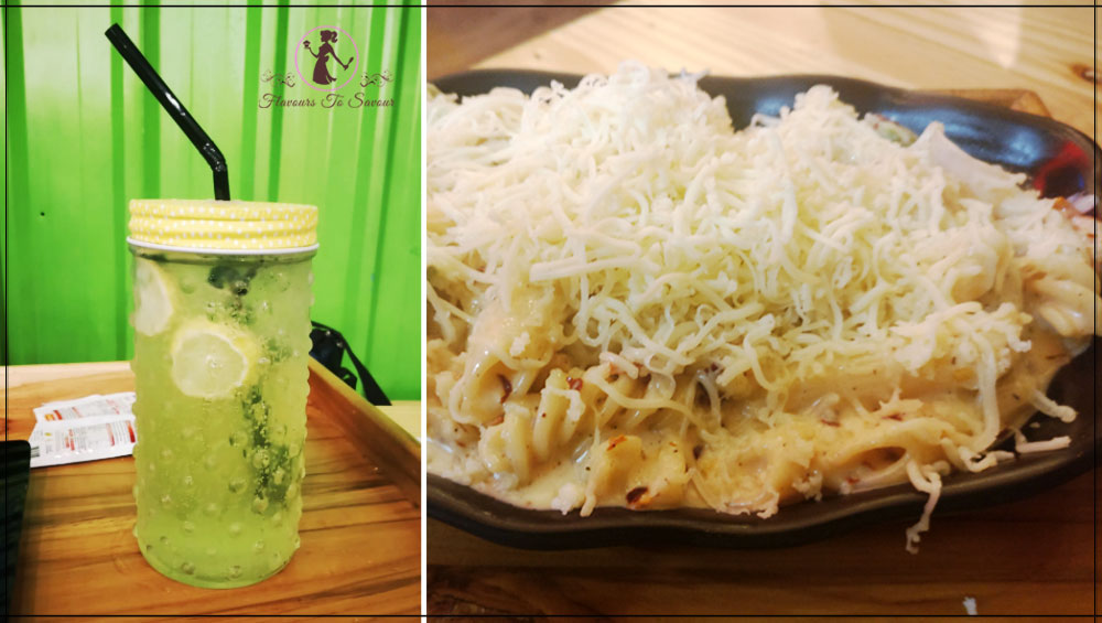 Veg-Bites-Cafe-Restaurant-Virgin-Mojito-and-Cheese-Pasta-Review-Image