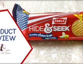 Hide & Seek Parle American Cashew And Butter Cookies Product Review