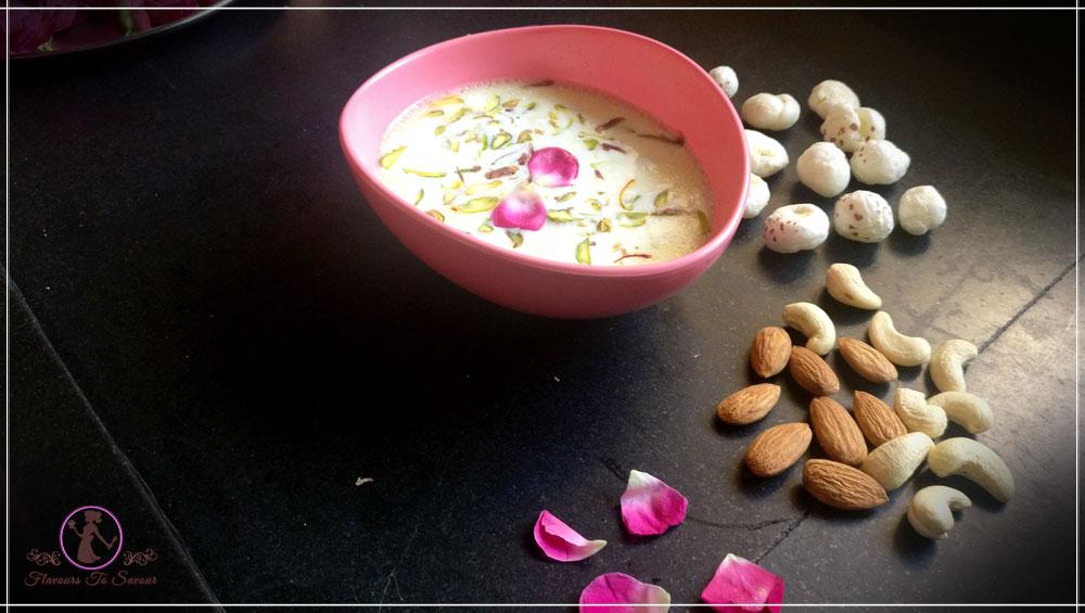 New Fasting Recipe Makhana Kheer - Navratri Special