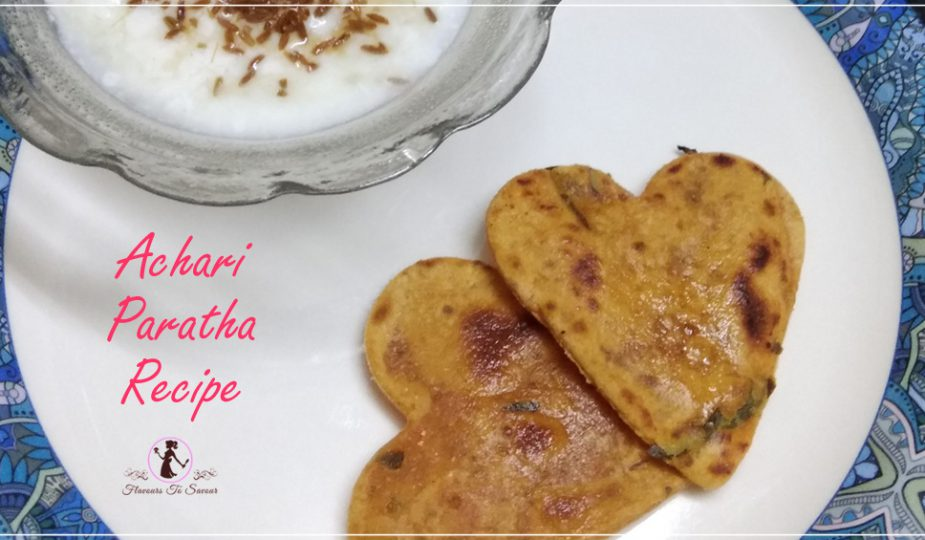 New Achari Paratha Recipe
