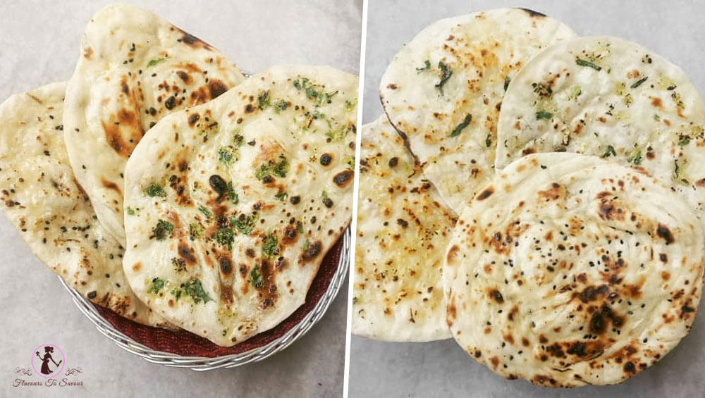 Eggless Naan Recipe