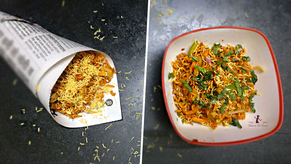 Chinese Bhel - Maggi Bhel - Homemade Recipe - Easy Recipe