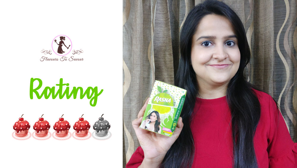 Rasna Shikanji Nimbu Pani Review and Rating