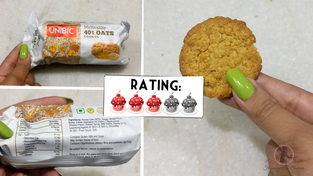 Unibic Oats Cookies Product Review