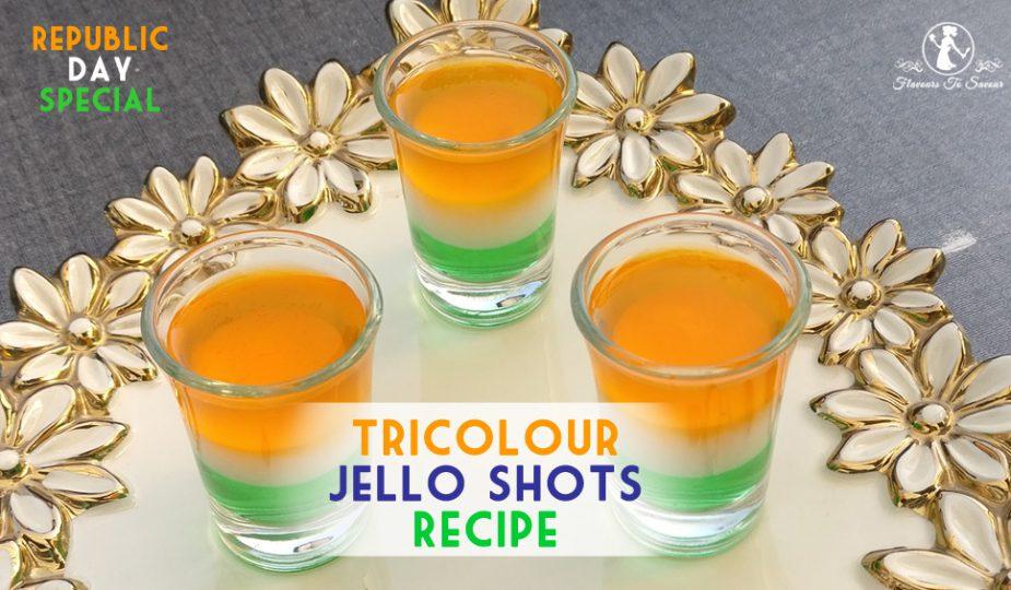 Republic Day Special Recipe: Tri-Colour Jello Shots