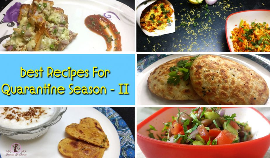 Best Recipes For Quarantine Season