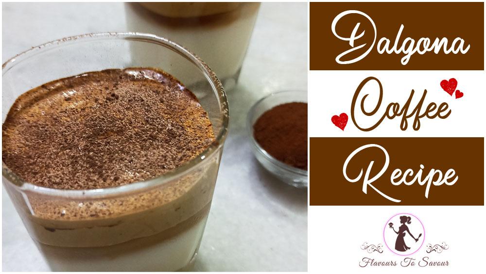 Dalgona Coffee Recipe Latest