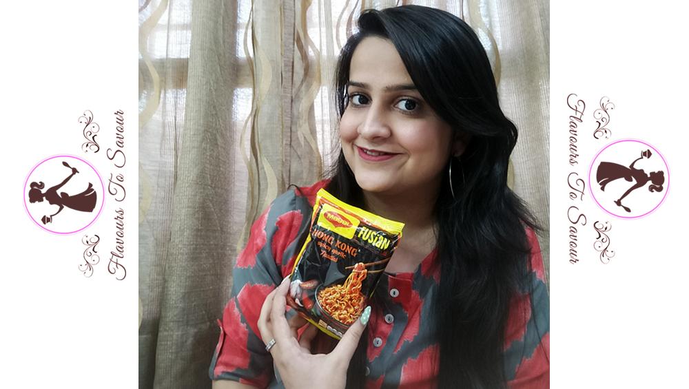 Maggi Fusian Hong Kong Spicy Garlic Noodles Review