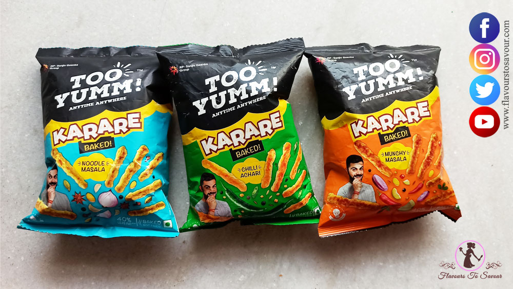 Too Yumm Review Packaging