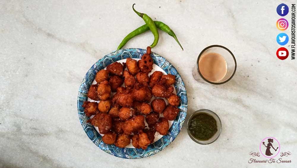 crispy moong bhaji recipe
