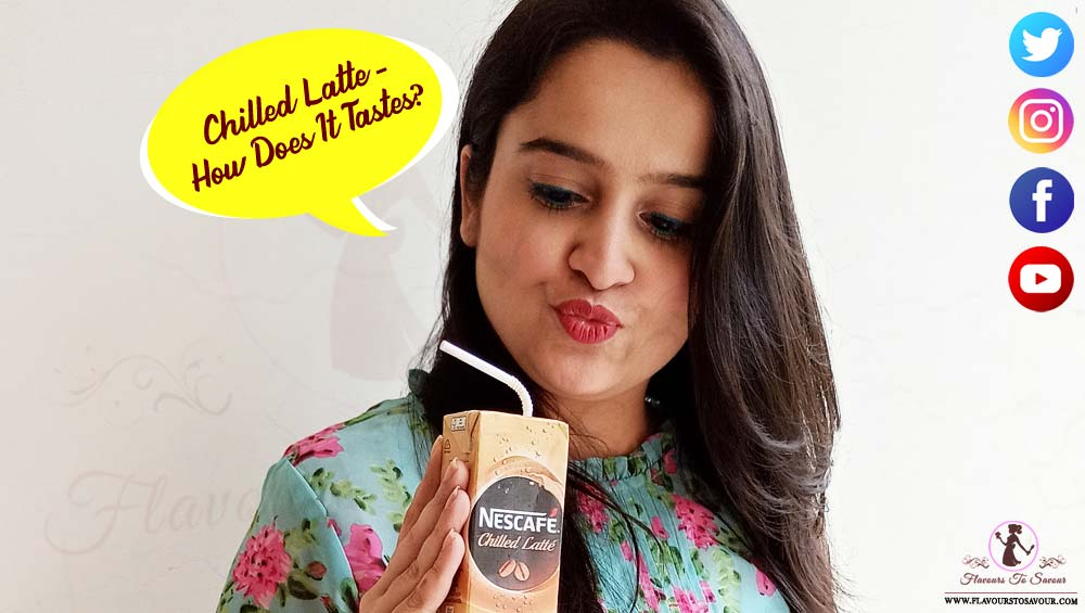 Nescafe Chilled Latte Taste Test