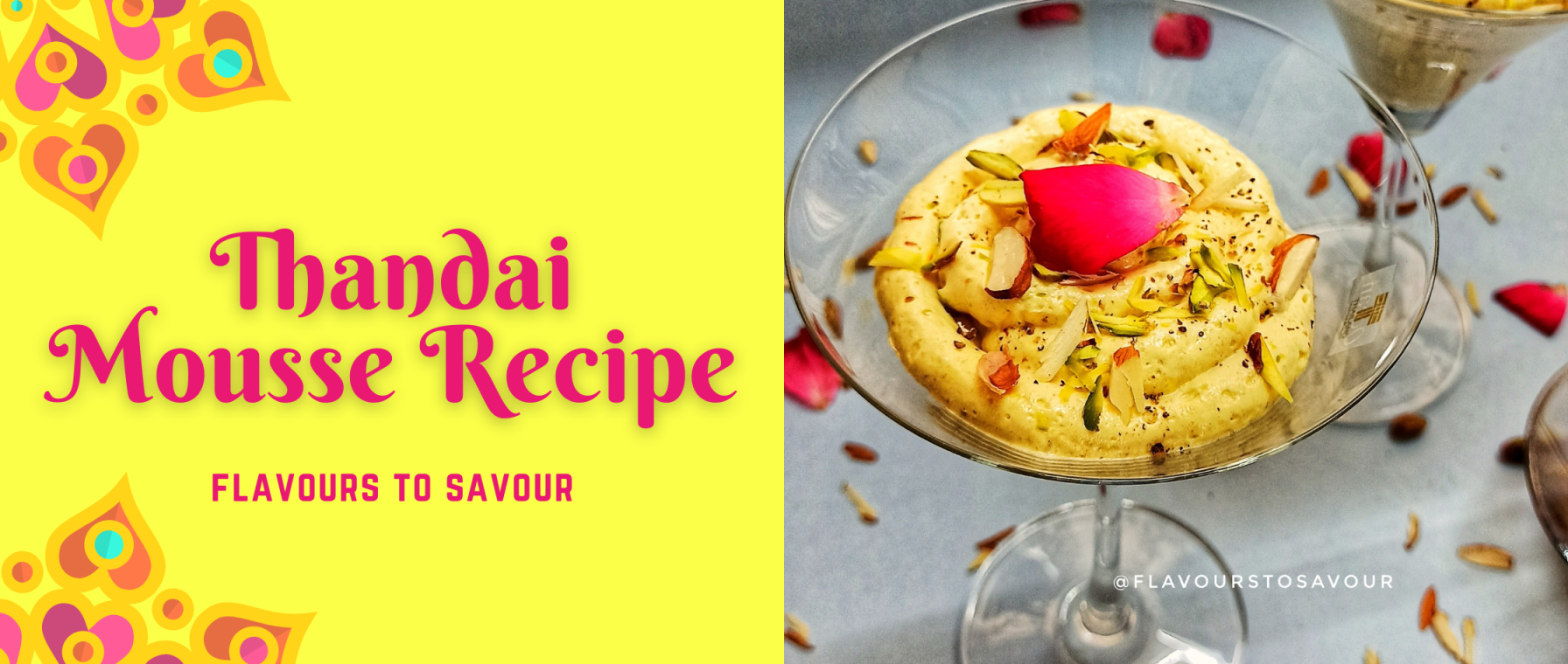 How to make Thandai Mousse