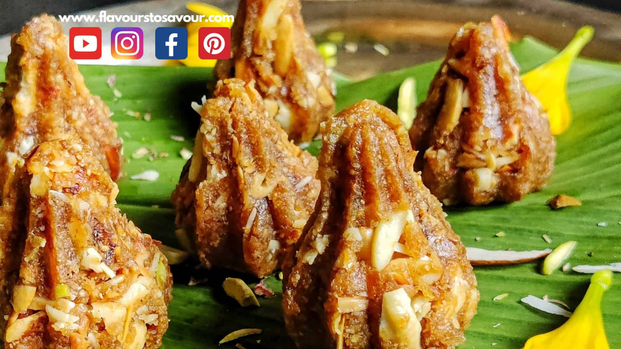 Healthy Anjeer Modak Recipe